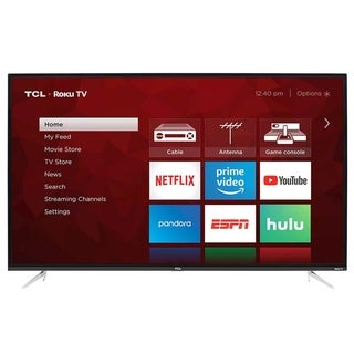 "Refurbished TCL 50"" Class 4K Ultra HD (2160P) Roku Smart LED TV (50S423) - N/A - N/A"