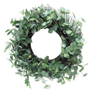 "24"" Artificial Olive All Season Wreath Home Decor"