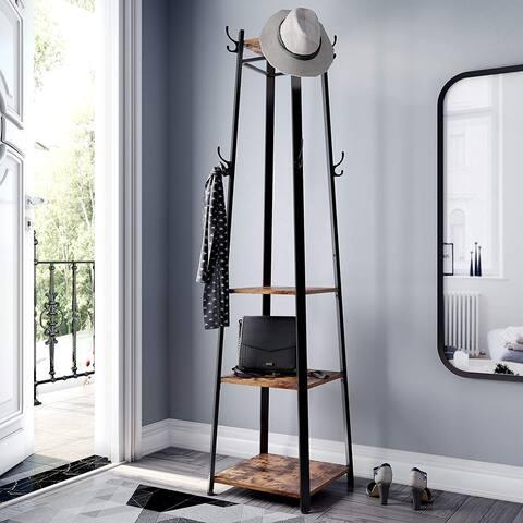 Carbon Loft Morwenna Metal Framed Ladder Style Coat Rack
