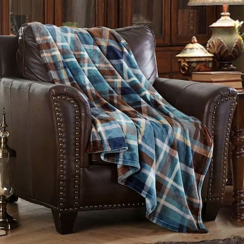 Merrylife Throw Blanket Decorative Home Couch Outdoor Travel Use