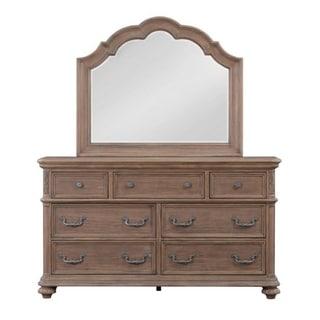 Lancaster Brown Wood Dresser