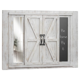 The Gray Barn West View Photo Collage Picture Frame and Chalkboard with Mirror
