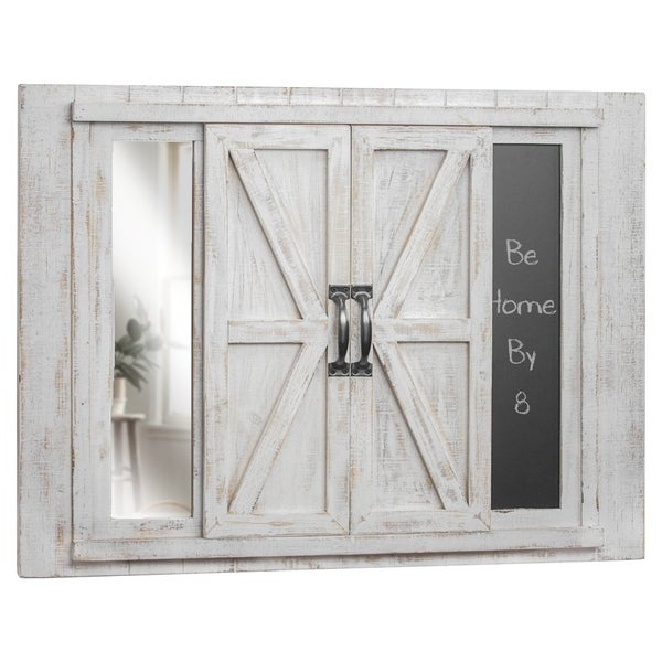 Photo Collage Picture Frame & Chalkboard with Mirror