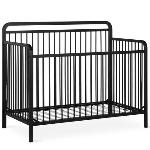 Taylor & Olive Clarkia Metal 4-in-1 Convertible Crib