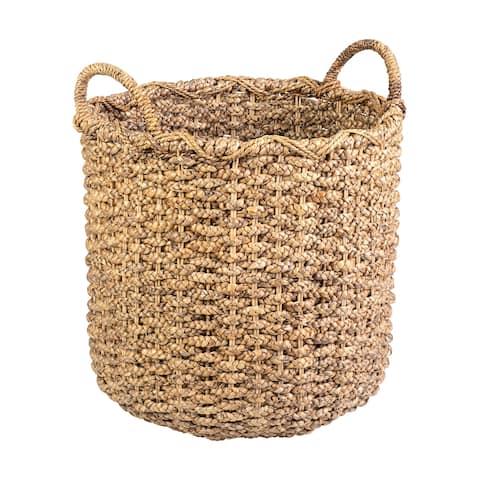 East At Main's Genevive Waterhyacinth Basket