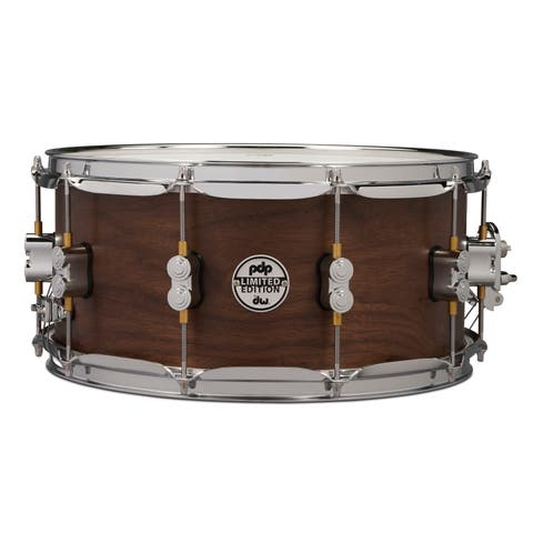 "PDP Limited Edition Maple / Walnut Shell 6.5""x14"" Snare Drum - Natural Satin Finish"