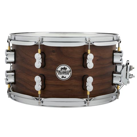 "PDP Limited Edition Maple / Walnut Shell 7""x13"" Snare Drum - Natural Satin Finish"