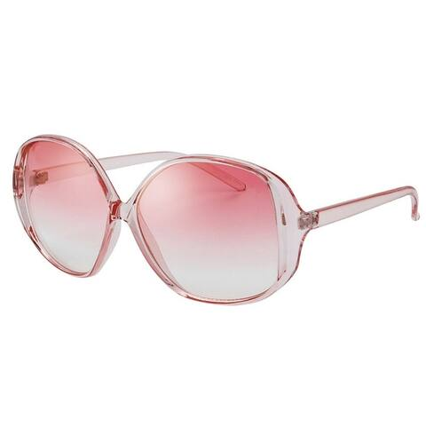 Vintage Collection Model 278 Oval Frame Cropped Off Fashion Sunglasses