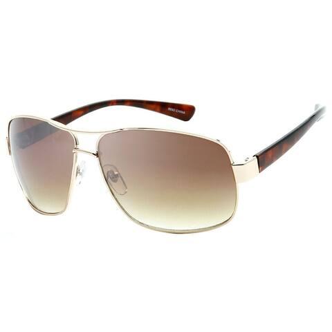 Retro Fashion Rectangle Frame Aviator Sunglasses