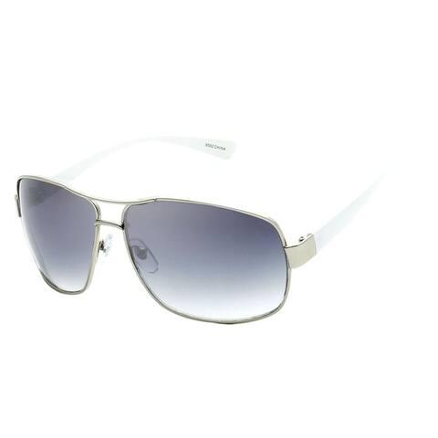 Retro Fashion Rectangle Frame Aviator Sunglasses Bundle ( 3 in1 )