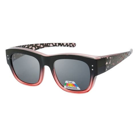 Kristol Women's Fitover Designer Fashion Polarized Sunglasses