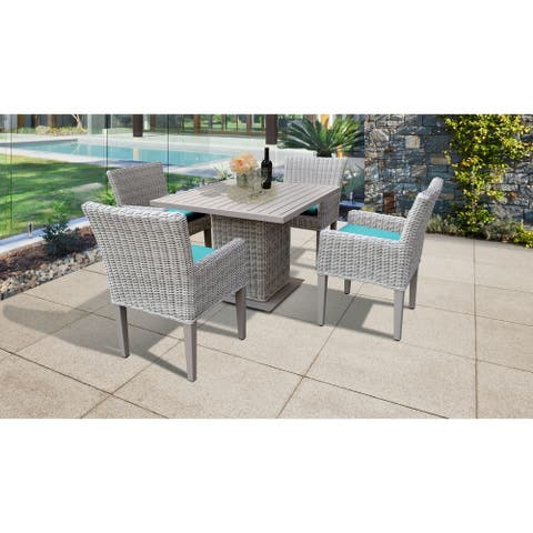 Coast Square Dining Table with 4 Chairs