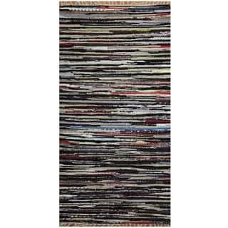 Handmade Wool Kilim (India) - 2'5 x 4'8
