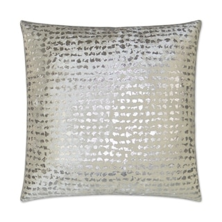 Silver Orchid Apfel 24-inch Decorative Throw Pillow with Hidden Zipper