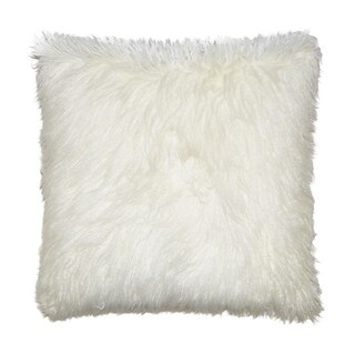 Ivory Feather Down 24-inch Decorative Throw Pillow