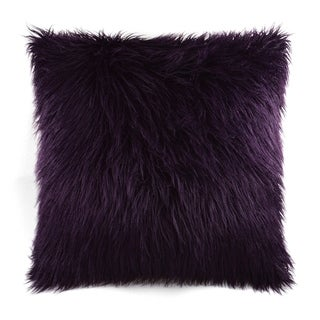 Plum Feather Down 24-inch Decorative Throw Pillow