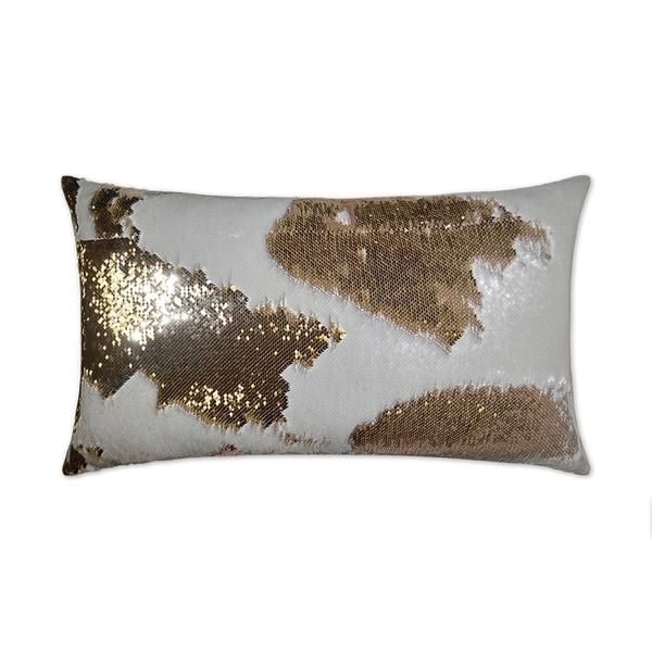 Hylee Lumbar-Ivory Feather Down Decorative Throw Pillow