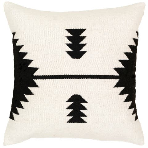 Alexei Modern 20-inch Poly or Feather Down Filled Throw Pillow