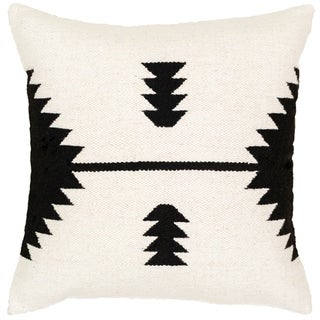 Alexei Modern Poly or Feather Down Filled 20-inch Throw Pillow