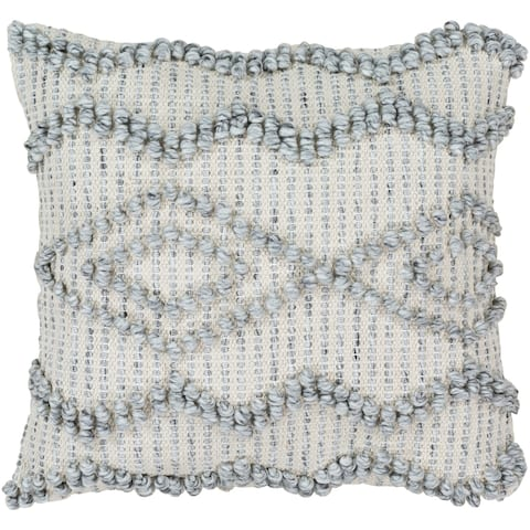 Naheed Bohemian 22-inch Poly or Feather Down Filled Throw Pillow