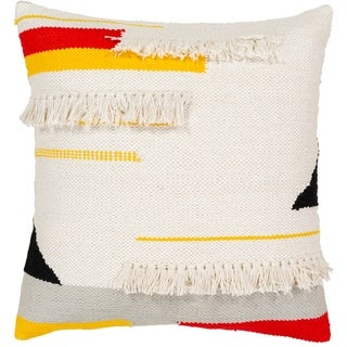 Costica Modern 20-Inch Poly or Feather Down Filled Throw Pillow