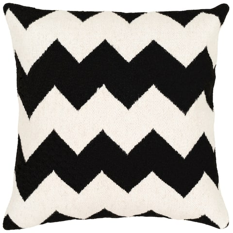 Ariston Modern 20-inch Poly or Feather Down Filled Throw Pillow