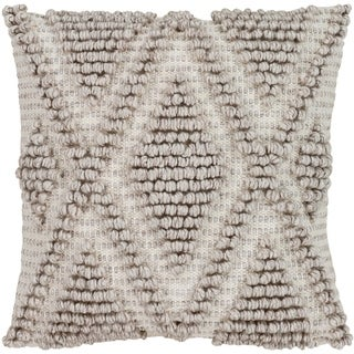 Katinka Bohemian 22-Inch Poly or Feather Down Filled Throw Pillow