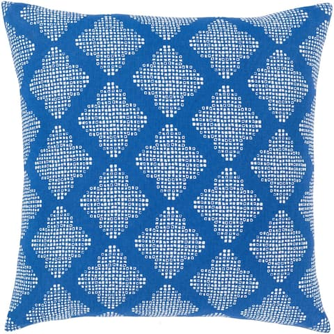 Nelesha Bohemian 18-inch Poly or Feather Down Filled Throw Pillow