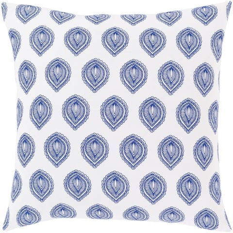 Oldrik Bohemian 18-inch Poly or Feather Down Filled Throw Pillow