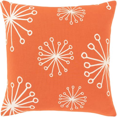 Rahul Modern 18-inch Poly or Feather Down Filled Throw Pillow