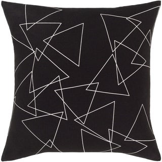 Roland Modern 18-inch Poly or Feather Down Filled Throw Pillow