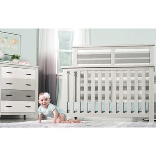 Forever Eclectic Long Beach 4-in-1 Convertible Crib - N/A