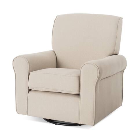 Forever Eclectic Serene Upholstered Glider Chair