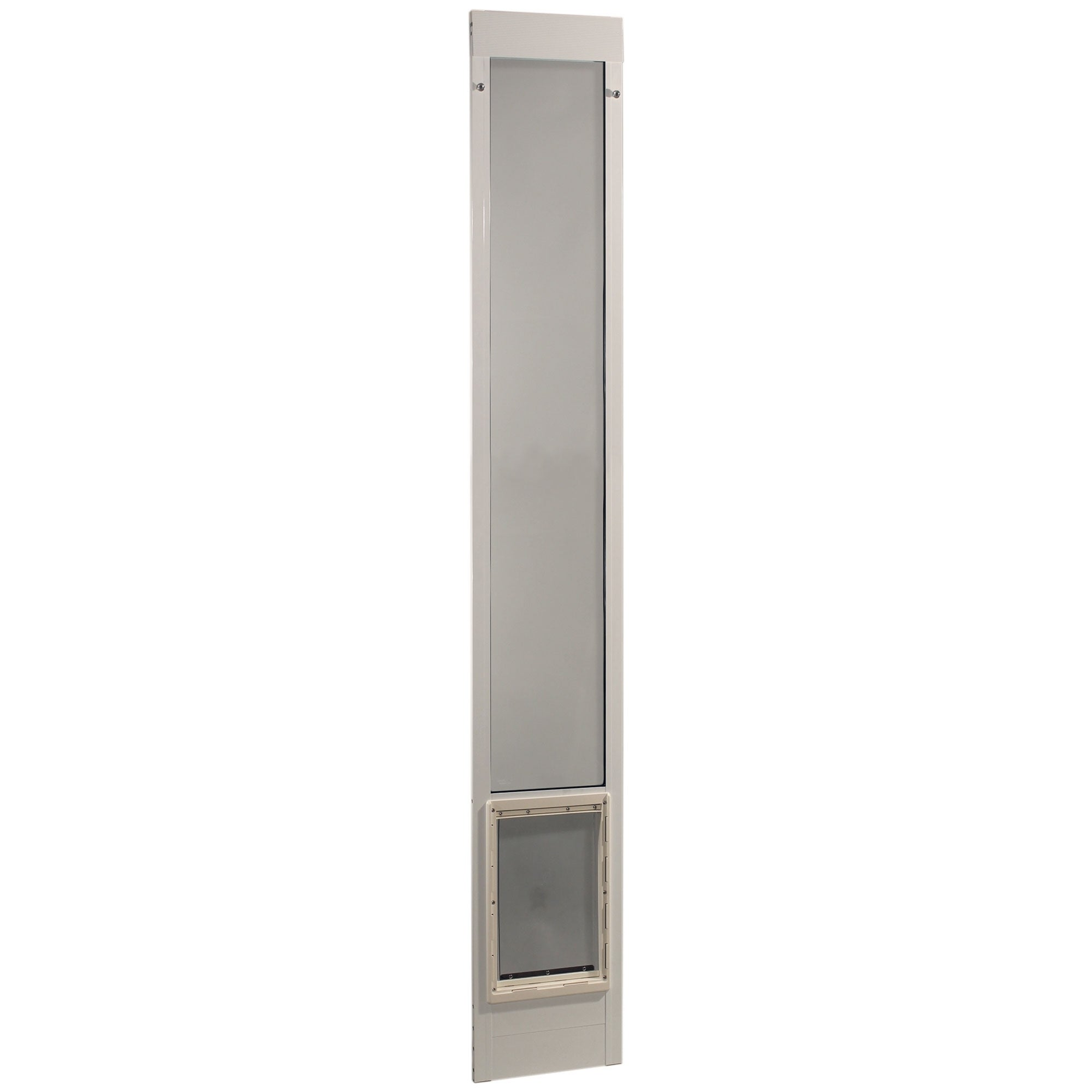 Ideal Pet Products Fast Fit Pet Patio Door Small White 1.88 x 9.5 x 93.75