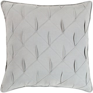 Miranda Textured 20-Inch Poly or Feather Down Filled Throw Pillow