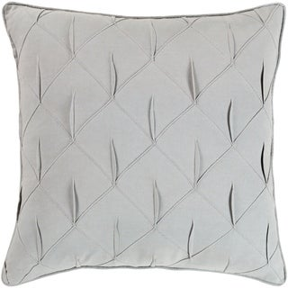 Miranda Textured 18-inch Poly or Feather Down Filled Throw Pillow