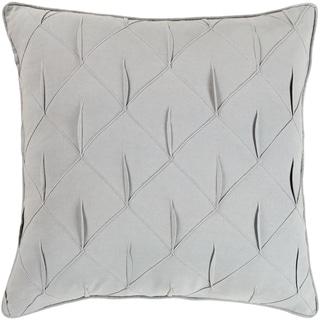 Miranda Feather Down Textured 22-inch Throw Pillow