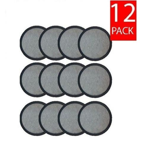 Mr.Coffee Activated Charcoal Water Filter Discs Premium Replacement in Bulk