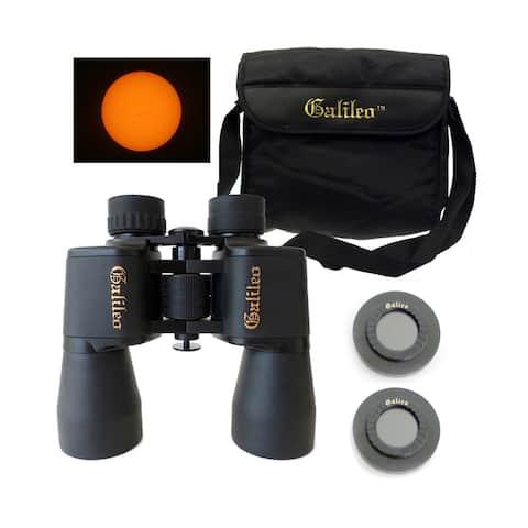 Galileo G-1050WASF 10x50mm Wide Angle Binocular with Solar Filter