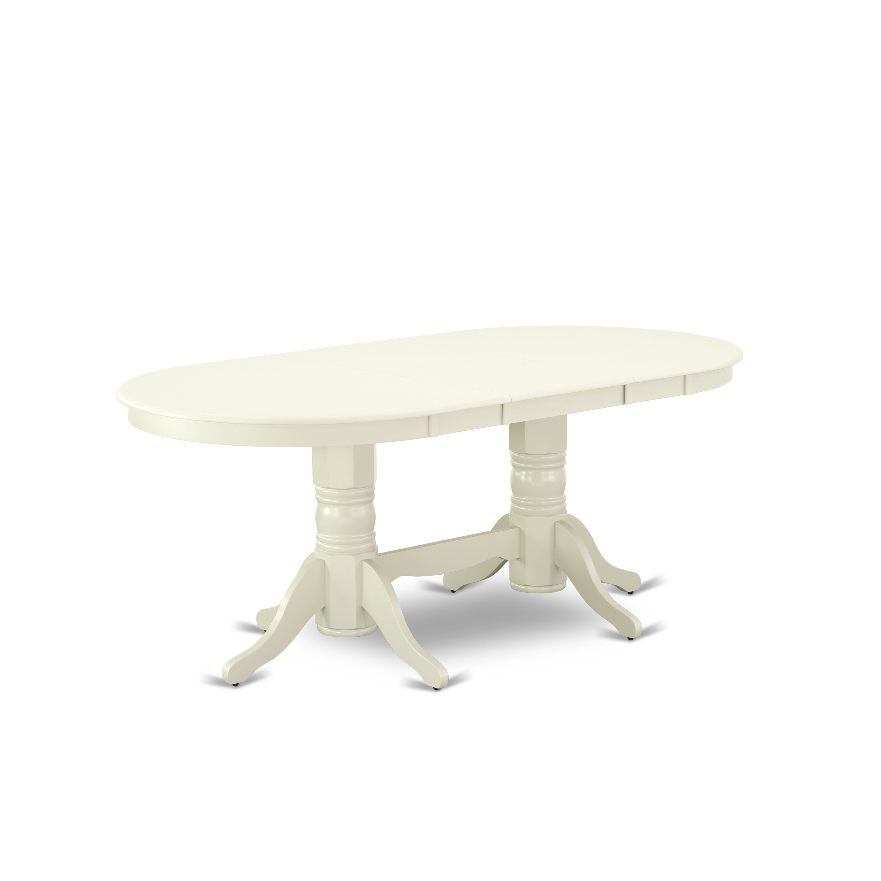 VAT-LWH-TP Vancouver Double Pedestal Dining Table with 17\
