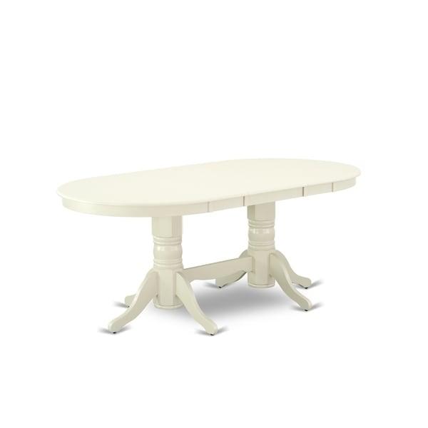 Shop VAT-LWH-TP Vancouver Double Pedestal Dining Table ...
