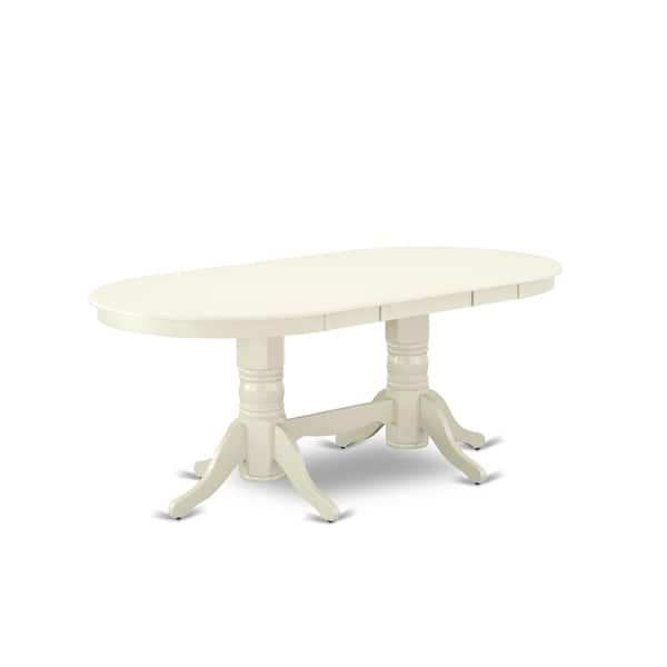 Shop VAT-LWH-TP Vancouver Double Pedestal Dining Table with ...
