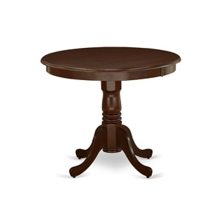 "ANT-MAH-TP Antique Table 36"" Round in Mahogany Finish"