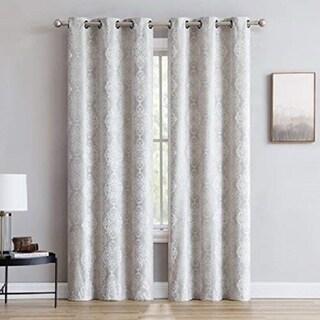 Gracewood Hollow Tucakovic Energy-efficient Fabric Blackout Curtains