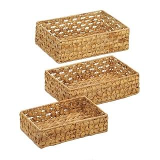 Kamas Weaved Straw Storage Nesting Baskets