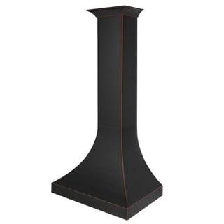 "ZLINE 48"" Designer Series Oil-Rubbed Bronze Wall Range Hood (8632B-48)"