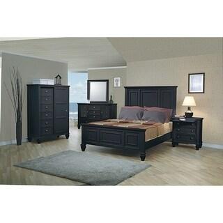 Grace 4-piece Panel Bedroom Set with 2 Nightstands