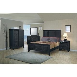 Grace 3-piece Panel Bedroom Set with Dresser