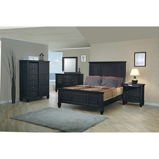 Grace 3-piece Panel Bedroom Set with Chest
