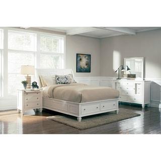 Grace 4-piece Storage Bedroom Set with 2 Nightstands